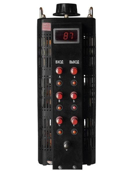 ЛАТР Энергия Black Series 3Ф 3кВА 3А 0-520V Е0102-0201