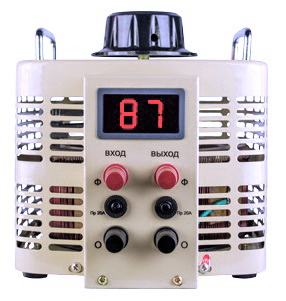 Автотрансформатор ЛАТР TDGC2 2 с цифровым дисплеем